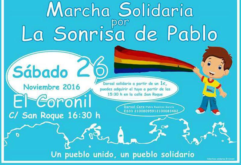 "El Coronil se une por ""La Sonrisa de Pablo"""