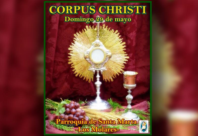 La Agrupación Parroquial Sacramental de Santa Marta de Los Molares celebra el Corpus este domingo