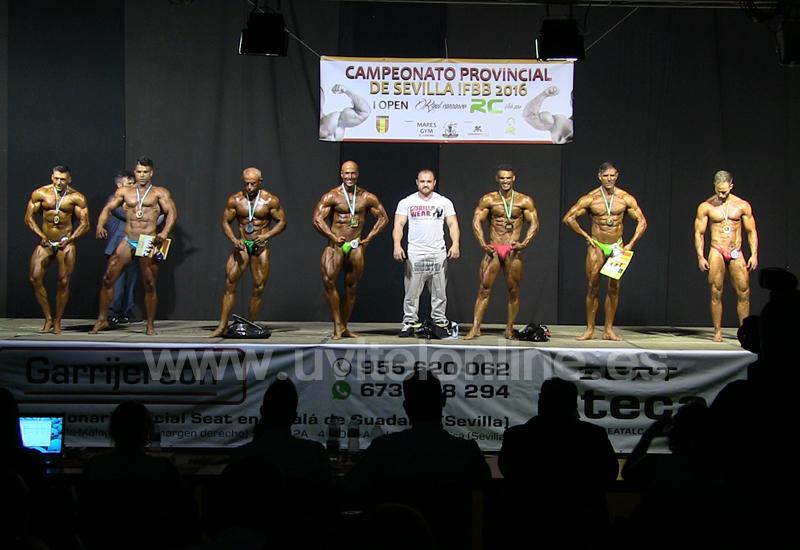Récord de participantes en el Campeonato Provincial de Culturismo celebrado en El Coronil