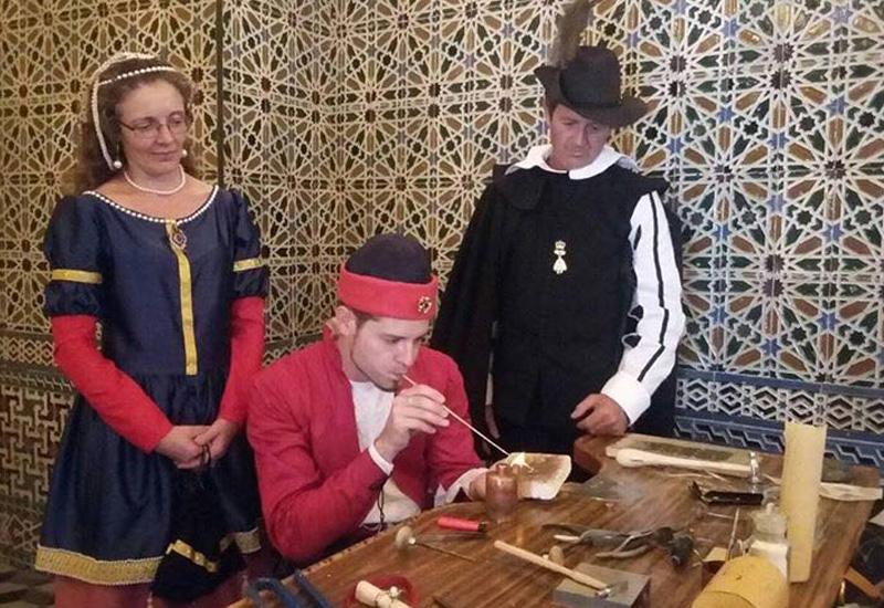 Los Molares volvió a celebrar la Feria de la Seda con gran afluencia de público