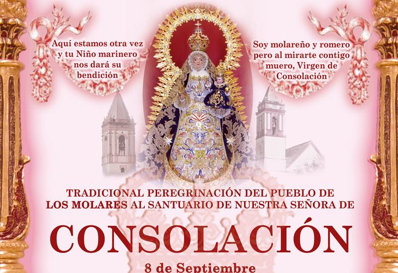Los Molares peregrina al Santuario de Consolación el próximo 8 de septiembre