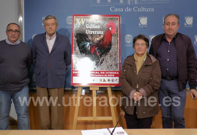 LA XV FERIA DE LA GALLINA UTRERANA SE CELEBRARÁ DEL 13 AL 16 DE DICIEMBRE