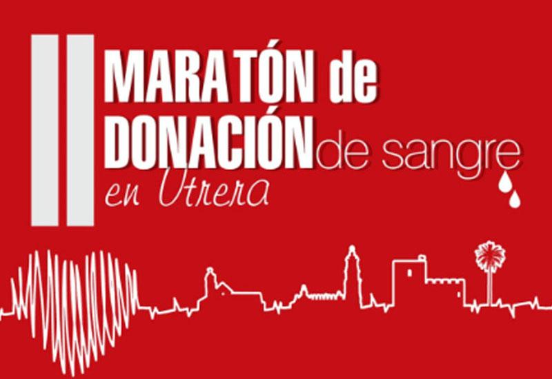 ESTE VIERNES SE DESARROLLA EL II MARATÓN DE DONACIÓN DE SANGRE EN UTRERA