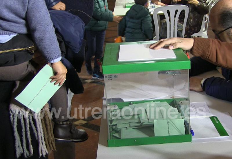 LA BAJA PARTICIPACIÓN EN LAS ELECCIONES AL PARLAMENTO DE ANDALUCÍA TAMBIÉN SE DEJA NOTAR EN LOS PALACIOS Y VILLAFRANCA, EL CORONIL Y LOS MOLARES