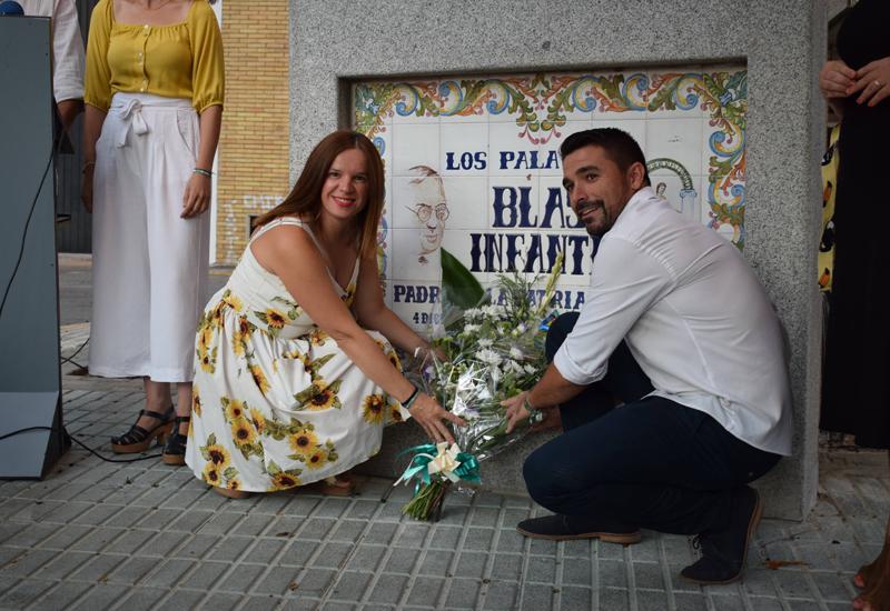 LOS PALACIOS Y VILLAFRANCA VOLVIÓ A RENDIR HOMENAJE A BLAS INFANTE EN EL 83 ANIVERSARIO DE SU FUSILAMIENTO