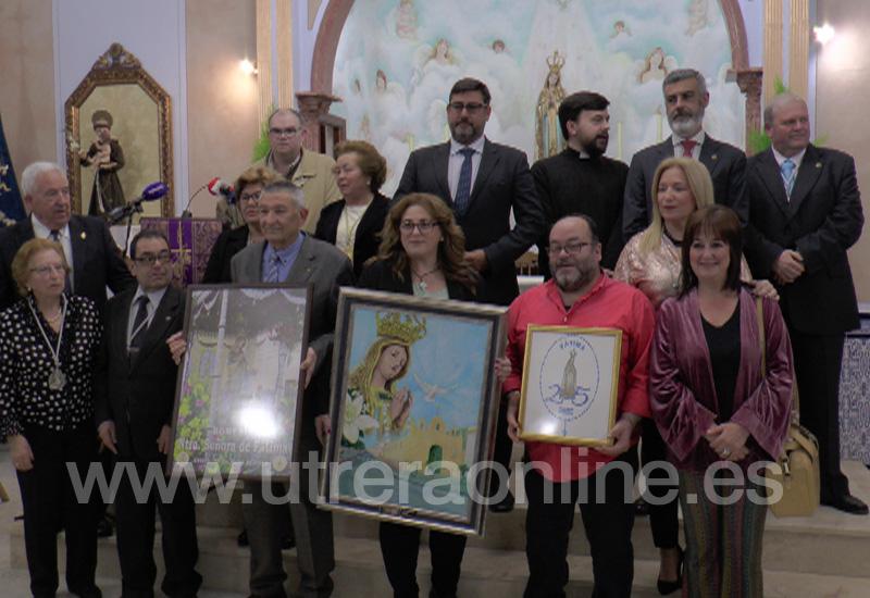 LA HERMANDAD DE FÁTIMA DE UTRERA CELEBRA SU 25 ANIVERSARIO CON UN AMPLIO PROGRAMA DE ACTIVIDADES