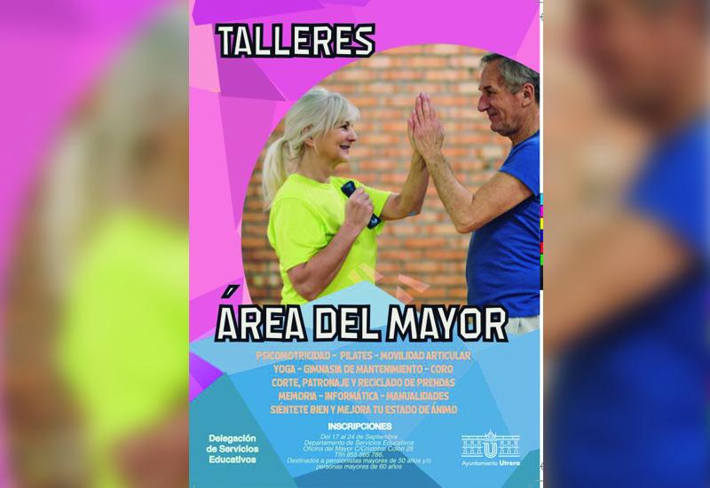 NUEVA EDICIÓN DE LOS TALLERES DEL ÁREA DEL MAYOR DEL AYUNTAMIENTO DE UTRERA
