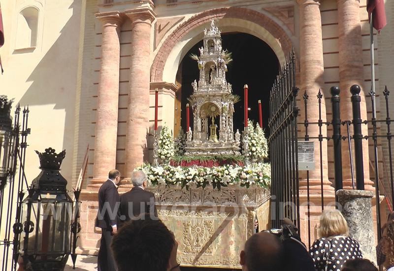 UTRERA CELEBRA LA FESTIVIDAD DEL CORPUS CHRISTI ESTE DOMINGO