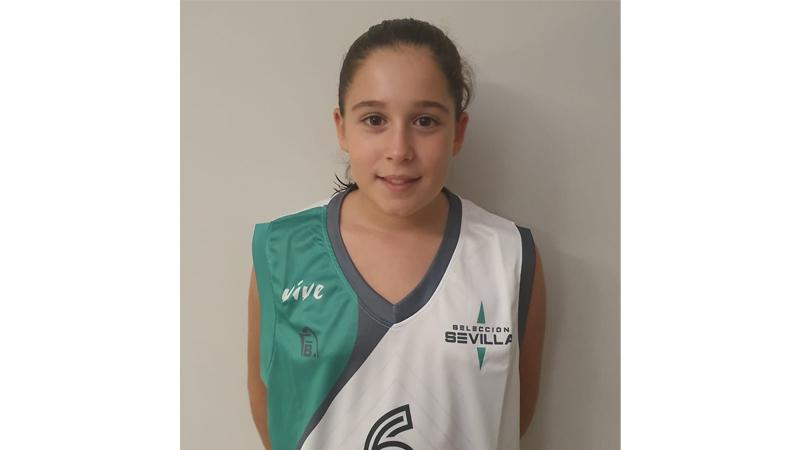 Paula Sánchez, jugadora del CBU.