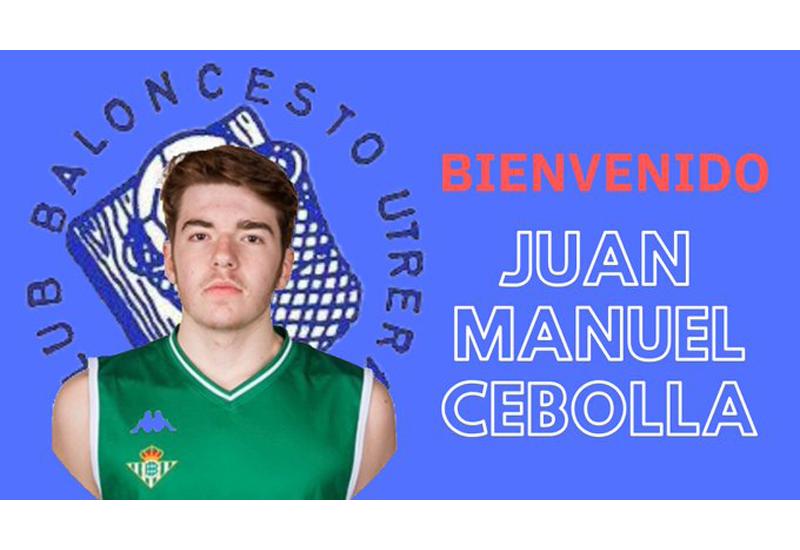 Manuel Cebolla, nuevo fichaje del Club Baloncesto Utrera.