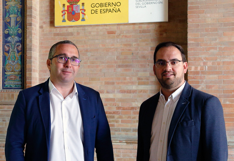 EL SUBDELEGADO DEL GOBIERNO DE ESPAÑA EN SEVILLA CONFIRMA AL ALCALDE DE LOS PALACIOS Y VILLAFRANCA QUE LAS OBRAS DEL DESDOBLE DE LA N-IV FINALIZARÁN A MEDIADOS DE 2020