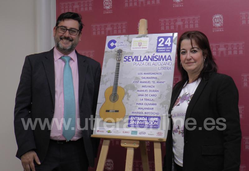 """EL 24 DE FEBRERO REGRESA """"SEVILLANÍSMA"""" A LA PLAZA DEL ALTOZANO DE UTRERA"""