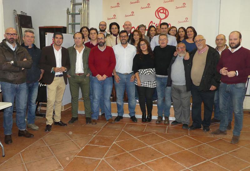 EL PSOE DE UTRERA APRUEBA LA LISTA CON LA QUE CONCURRIRÁ A LAS ELECCIONES MUNICIPALES DEL PRÓXIMO MES DE MAYO