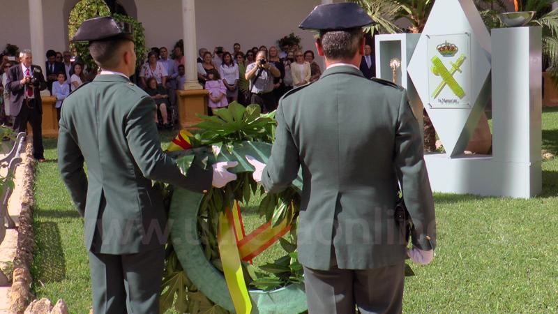 LA GUARDIA CIVIL CELEBRA ESTE 12 DE OCTUBRE EL DÍA DE LA VIRGEN DEL PILAR EN UTRERA