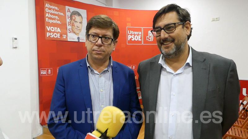 """EL PSOE PIDE EN UTRERA EL """"ÚNICO VOTO ÚTIL"""" PARA PEDRO SÁNCHEZ"""