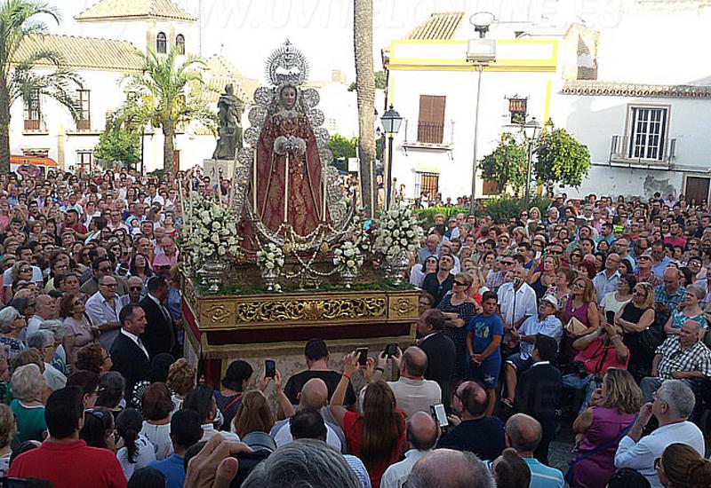 SANTA MARÍA DE LA MESA VOLVERÁ A RECORRER SU BARRIO UN 15 DE AGOSTO MÁS