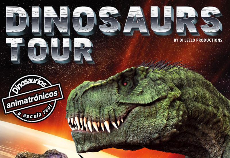 DINOSAURS TOUR LLEGA A UTRERA LOS DÍAS 23 Y 24 DE FEBRERO